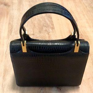 Vintage black crocodile 🐊 purse 👜